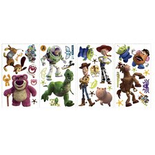 Licensed Designs Toy Story 3 Peel and Stick Wall Decal with Glow in the dark