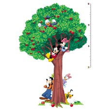 Licensed Designs Mickey and Friends Growth Chart