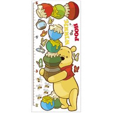 Licensed Designs Pooh Growth Chart