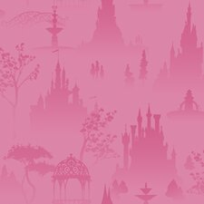 Scenic Princess Toile Wallpaper