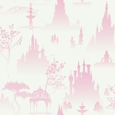 <strong>Room Mates</strong> Scenic Princess Toile in White