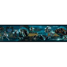 Tron Legacy Border in Black