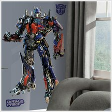 Transformers Optimus Prime Giant Peel and Stick Wall Decal
