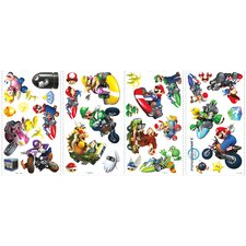 Mario Kart Wall Decal