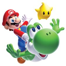 Mario Yoshi Peel and Stick Giant Wall Decal