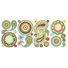 Paisley Peel and Stick Wall Decal