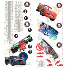 Cars 2 Lightening McQueen Peel and Stick Growth Chart