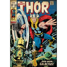 <strong>Room Mates</strong> Thor Comic Book Cover Wall Decal