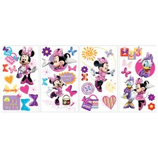<strong>Room Mates</strong> Minnie Bow Tique Wall Decal