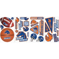 <strong>Room Mates</strong> 25 Piece Boise State Wall Decal