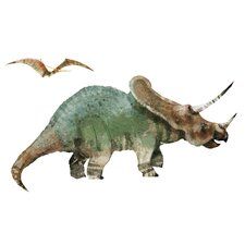 Dinosaur Peel and Stick Giant Wall Decal