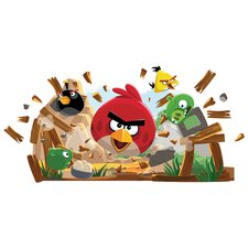 Angry Birds Peel and Stick Giant Wall Decals
