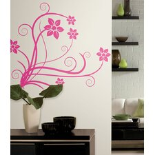 Deco Swirl Peel and Stick Wall Decal