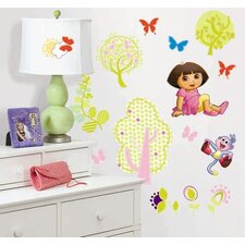 Nickelodeon Dora the Explorer Peel and Stick Wall Sticker