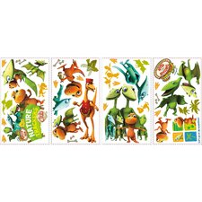 36 Piece Peel & Stick Wall Decals/Wall Stickers Dinosaur Train Wall Decal Set