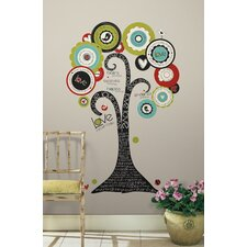 32 Piece Peel & Stick Giant Wall Decals/Wall Stickers Tree of Hope Wall Decal Set