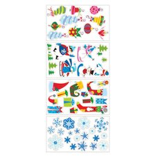 Let It Snow Peel and Stick Wall Sticker