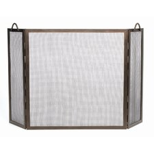 <strong>Minuteman International</strong> Twisted Rope Wrought Iron Fireplace Screen