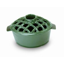 Lattice Top Enamel Steamer