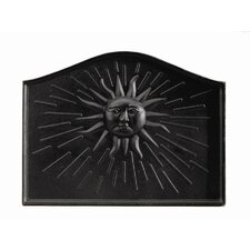 Sun Cast Iron Fire Back