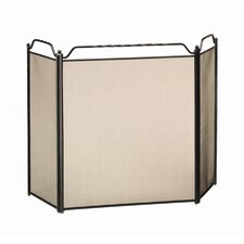 <strong>Minuteman International</strong> 3 Panel Steel Fireplace Screen