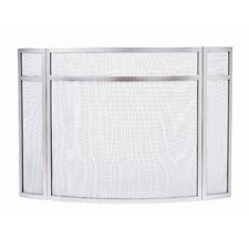 3 Panel Wrought Iron Fireplace Screens