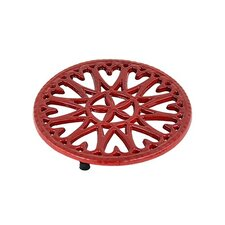 Sunburst Cast Iron Trivet
