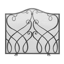 <strong>Minuteman International</strong> Cypher Wrought Iron Fireplace Screen