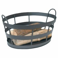<strong>Minuteman International</strong> Wrought Iron Shaker Log Bin