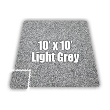 SoftCarpets Set in Light Grey
