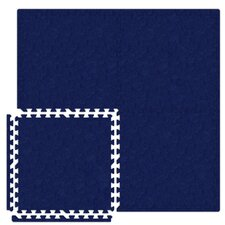 Economy SoftCarpets Set in Royal Blue