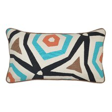 <strong>Classic Home</strong> Abasi Applique Accent Pillow