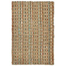 <strong>Classic Home</strong> Celia Sunset Jute Stripe Rug