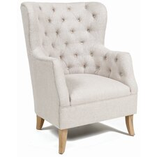 Akash Cotton Club Chair