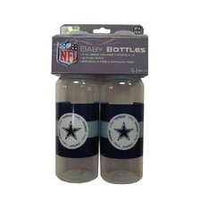 <strong>Baby Fanatic</strong> NFL Baby Bottle (Set of 2)