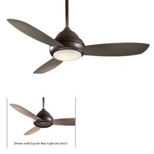 "44"" Concept I 3 Blade Ceiling Fan with Remote"