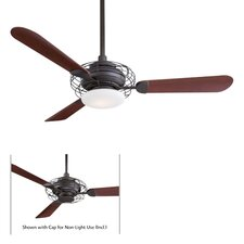 "52"" Acero Retro 3 Blade Ceiling Fan"