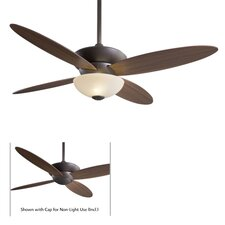 "52"" Zen 4 Blade Ceiling Fan with Remote"
