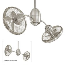 "36"" Gyrette 8 Blade Turbo Ceiling Fan with Wall Control"
