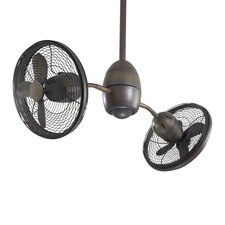 "<strong>Minka Aire</strong> 36"" Gyrette 8 Blade Turbo Ceiling Fan with Wall Control"