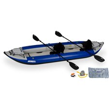 Pro Explorer Kayak in Gray