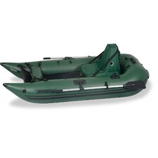 Frameless Pontoon Pro Boat in Green