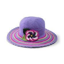 Kids' Flower Brim Hat