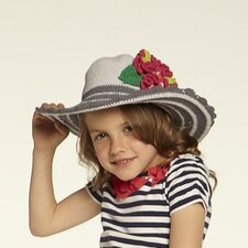 Kids' Flower Floppy Hat