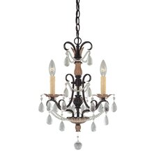 <strong>Minka Lavery</strong> 3 Light Mini Chandelier