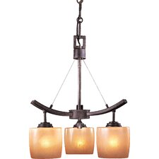 Raiden 3 Light Mini Chandelier