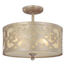 <strong>Minka Lavery</strong> Nanti 3 Light Semi Flush Mount