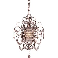 <strong>Minka Lavery</strong> 1 Light Mini Chandelier
