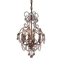 <strong>Minka Lavery</strong> 4 Light Mini Chandelier