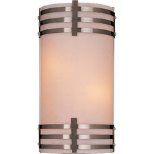 <strong>Minka Lavery</strong> Rectangle 2 Light Wall Sconce